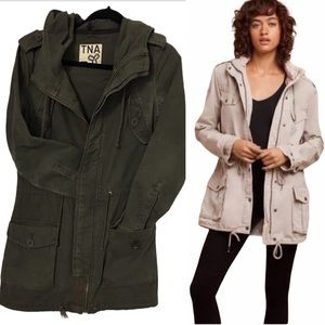 ARITZIA TNA MILITARY JACKET